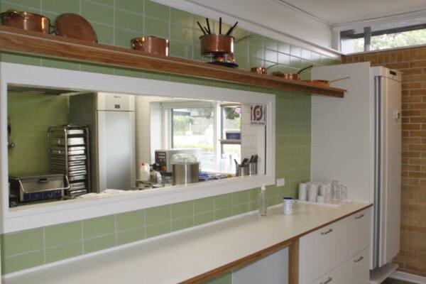 Produktionskøkken på Engsøgård Plejehjem