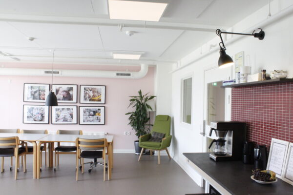 Produktionskøkken og fælleskøkkener på Hørgården Plejehjem