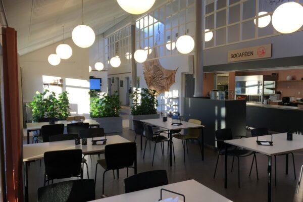 Lokalcenter Brabrand –  Indretning til tidssvarende café
