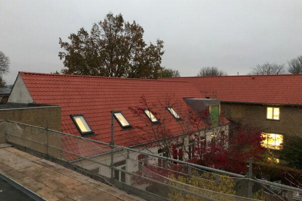 Tag- og vinduesudskiftning på Plejehjemmet Egely